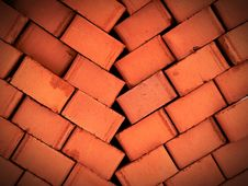 Pile Of Brick Royalty Free Stock Images