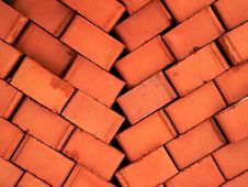 Pile Of Brick Stock Photo