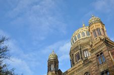 Free The Jewish Synagogue In Berlin III Royalty Free Stock Images - 13844999