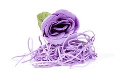 Free Beautiful Purple Rose Royalty Free Stock Photos - 13845148