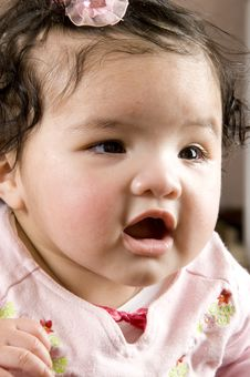 Four Months Old Baby Stock Photography