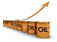 Free Oil Price Grow Royalty Free Stock Images - 13845439