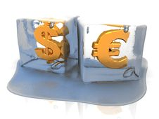Free Frozen Currency Stock Photo - 13845470
