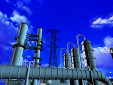 Free Industrial Structure Stock Photography - 13845522