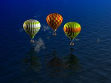 Free Balloons Royalty Free Stock Image - 13845586