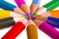 Free Color Pencils Stock Images - 13845664
