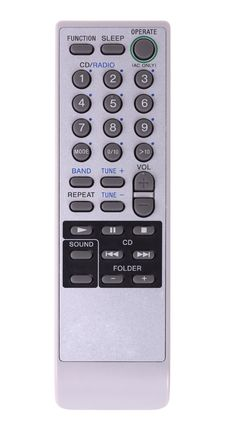 Grey Remote Control Royalty Free Stock Photography