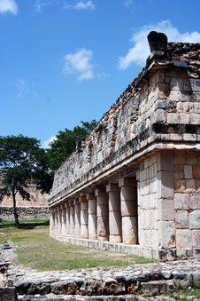 Free Mexican Maya Building Royalty Free Stock Photography - 13846237