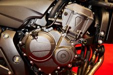 Free Motorcycle Engine Stock Images - 13846644