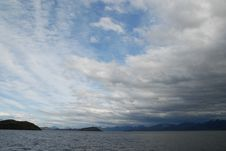 Free Clouds Over Strait Of Magellan, Chile Stock Photos - 13846993