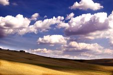Cloudy Landscape Royalty Free Stock Photo