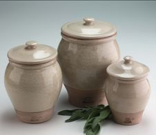Free Three Clay Pots Stock Image - 13847571