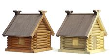 Free Two Wooden House Stock Photo - 13848210