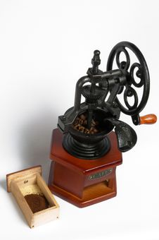 Free Coffee Grinder Stock Photo - 13848220