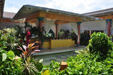 Tropical Resort Gazebo Royalty Free Stock Photography