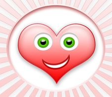 Free Smiling Heart Stock Image - 13849361
