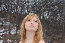 Free Beautiful Blonde Stock Image - 13849371