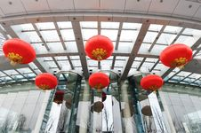 Free Chinese Red Lanterns Stock Photos - 13849753