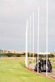 Free Flag Poles Stock Image - 13849791