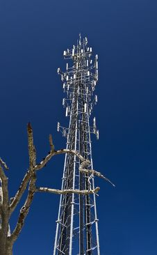 Free Communication Tower Royalty Free Stock Images - 13849949