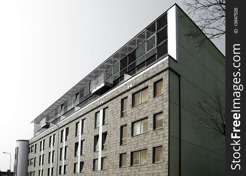 The modern living house