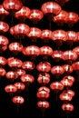 Free Chinese Red Lanterns At Night Stock Photos - 13850703