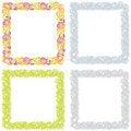 Free Set Of Frames Royalty Free Stock Image - 13856746