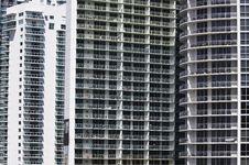 Apartment Balconies Royalty Free Stock Photo