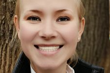 Free Smiling Woman Royalty Free Stock Image - 13850656