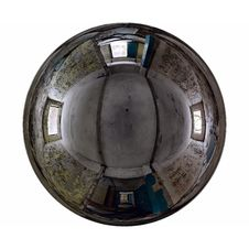 Free Mirror Ball Abandoned Interior Stock Photo - 13851100