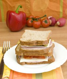 Free Making Sandwiches Stock Photos - 13852313