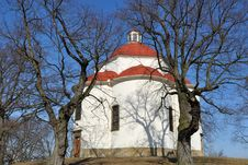 Free Chapel Of Holy Trinity In Rosice,Czech Rep. Royalty Free Stock Photo - 13852935