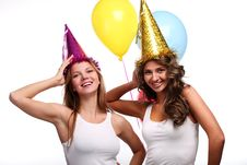 Free Party Girlfriends Royalty Free Stock Image - 13852966