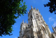 Free York Minster View Royalty Free Stock Image - 13853526