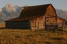 Free Sunrise At Grand Teton Stock Photo - 13853590
