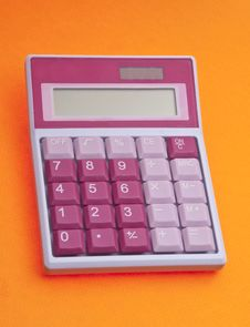 Free Vibrant Calculator Royalty Free Stock Photos - 13853738