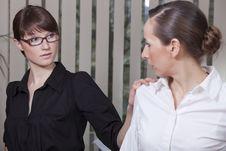 Free Women In Office Stock Photos - 13854263