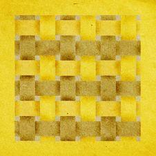 Basketwork Pattern - Seamless Stock Photo