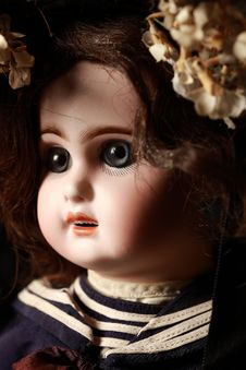 Free Portrait Of A Doll Royalty Free Stock Image - 13854716