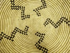 Free Native American Basketwork Pattern Stock Photography - 13854732
