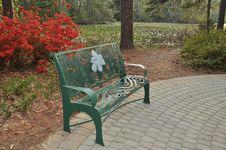 Free Garden Bench Royalty Free Stock Image - 13855746