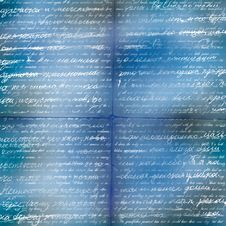 Free Blue Grunge Background For Design Or Photo Stock Photos - 13856133