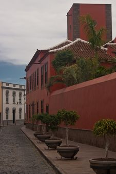 Free Tenerife Small Old Town Royalty Free Stock Photo - 13857005