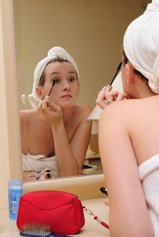 Free Make-up Drawing Stock Photo - 13857100