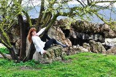 Free Between Tree And Stones Stock Photo - 13857510