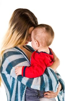Free Happy Mother With Baby Stock Images - 13857974