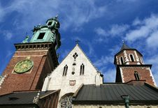 Free A Picture Of The Wawel Castle In Krakow Stock Images - 13858134