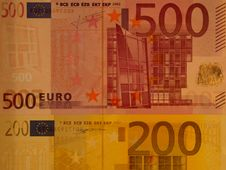 Free Paper Money In Europe Royalty Free Stock Photos - 13859428