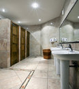 Free Public Restroom Interior Stock Photos - 13865973