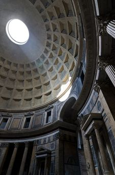Free Pantheon Interior Stock Images - 13860204